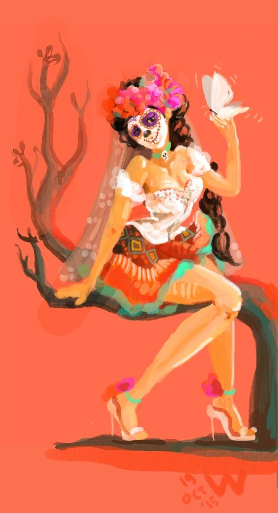 Dia de Los Muertos Wai-